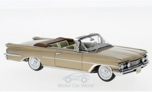 Oldsmobile 98 1/43 Neo Convertible metallic-dunkelbeige 1959 miniature