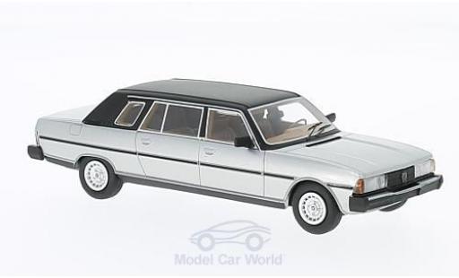 Peugeot 604 1/43 Neo Limousine Heuliez grise/noire 1978 miniature