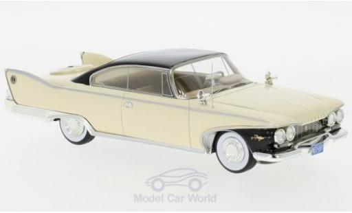Plymouth Fury 1/43 Neo Coupe beige/nero 1960 miniatura