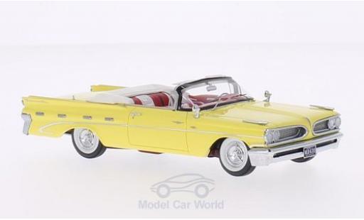Pontiac Bonneville 1/43 Neo Convertible jaune 1959 miniature