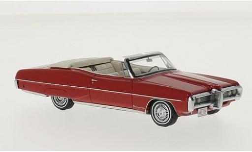 Pontiac Bonneville 1/43 Neo Convertible rouge 1968 miniature