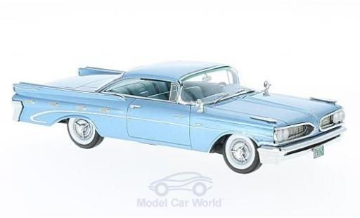 Pontiac Bonneville 1/43 Neo Hardtop métallisé bleue 1959 miniature