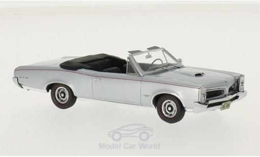 Pontiac GTO 1/43 Neo Convertible metallise grey 1966 diecast model cars