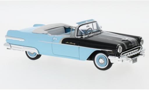 Pontiac Star Chief 1/43 Neo Convertible noire/bleue 1956 miniature