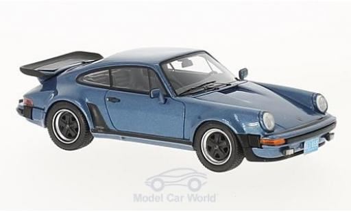 Porsche 930 Turbo 1/43 Neo (930) Turbo USA metallic-bleue 1979 miniature