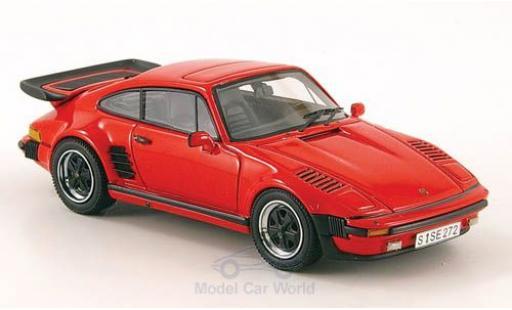 Porsche 930 1/43 Neo Turbo SE Flatnose rouge 1987 miniature