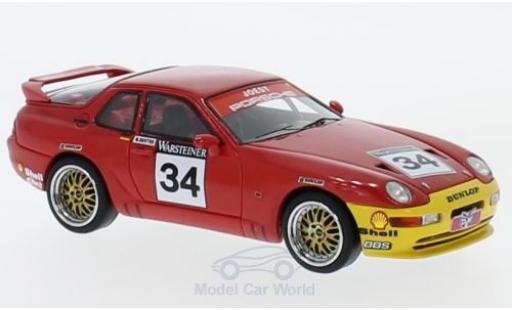 Porsche 993 Turbo 1/43 Neo 968 RS No.34 ADAC GT Cup 1 M.Reuter miniature