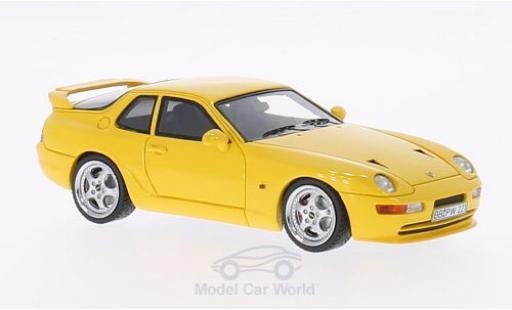 Porsche 993 Turbo S 1/43 Neo 968 jaune 1 miniature