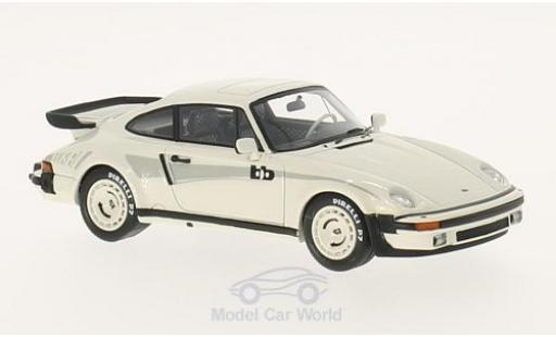 Porsche 930 Turbo 1/43 Neo BB blanche miniature