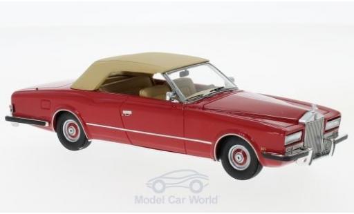 Rolls Royce Phantom 1/43 Neo VI Frua Drophead Coupe rouge/beige 1971 miniature