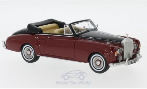 Rolls Royce Silver Cloud 1/43 Neo III Convertible rouge/noire RHD 1964 miniature