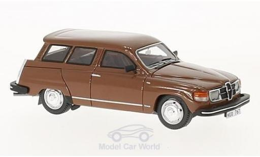 Saab 95 GL 1/43 Neo marron 1979 miniature