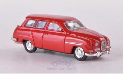 Saab 95 1/87 Neo rouge 1961 miniature