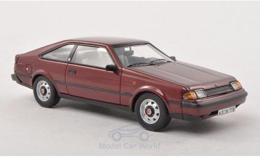 Toyota Celica 1/43 Neo ST Mk3 metallic-dunkelrouge 1983 miniature