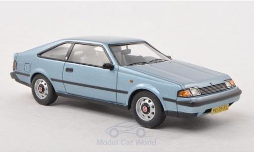 Toyota Celica 1/43 Neo ST Mk3 metallise blue 1983 diecast model cars