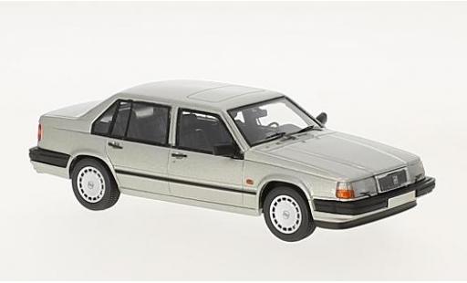 Volvo 940 1/43 Neo GL Sedan grise 1990 miniature