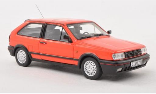 Volkswagen Polo 1/43 Neo IIF Coupe G40 rouge 1991 miniature