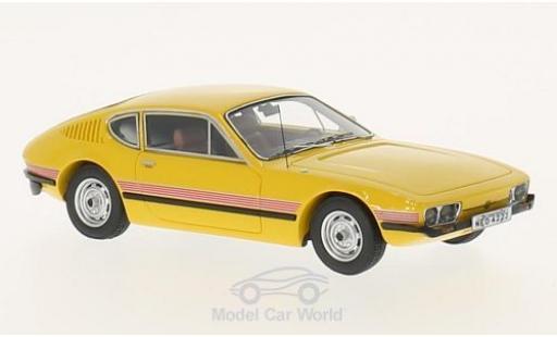 Volkswagen SP2 1/43 Neo jaune/Dekor 1974 miniature