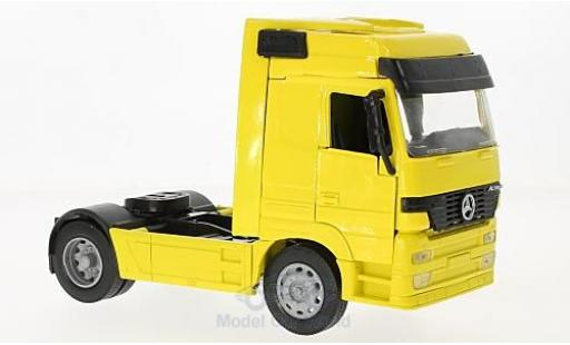 Mercedes Actros 1/32 New Ray 1857 jaune Zugmaschine miniature
