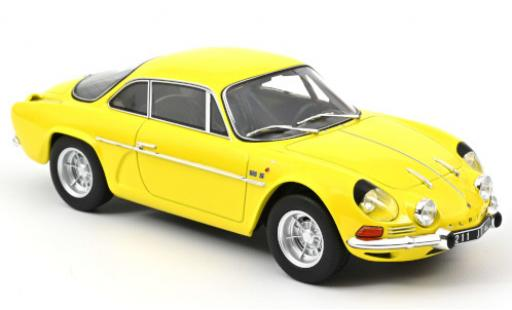 Alpine A110 1/18 Norev 1600S yellow 1971 diecast model cars