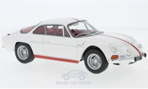 Alpine A110 1/18 Norev Renault 1600S white/red 1971 diecast model cars