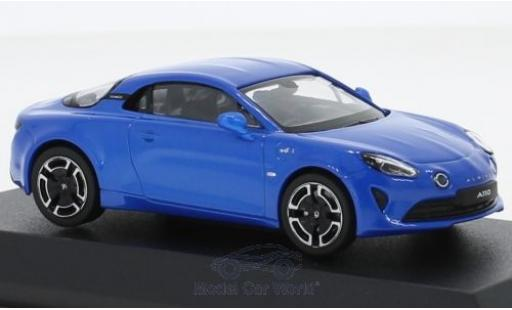 Alpine A110 1/43 Norev Renault Legende blue 2018 diecast model cars