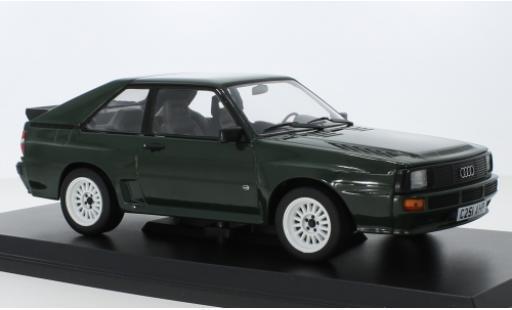 Audi Sport Quattro 1/18 Norev green 1985 diecast model cars