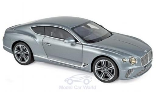 Bentley Continental 1/18 Norev GT metallise grey 2018 diecast model cars