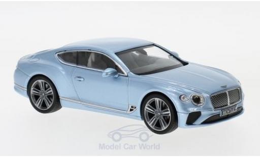 Bentley Continental T 1/43 Norev GT metallic blue 2018 diecast
