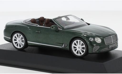 Bentley Continental 1/43 Norev GTC metallise verte 2019 miniature