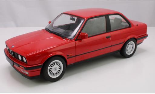 Bmw 325 1/18 Norev i (E30) rouge 1988 miniature