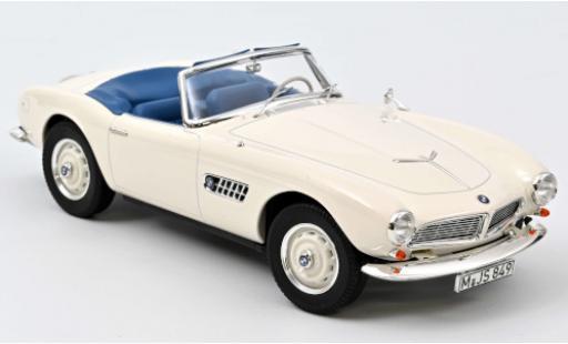 Bmw 507 1/18 Norev Cabriolet blanche 1957 Verdeck ouvert