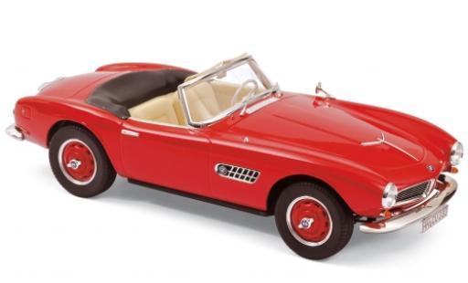 Bmw 507 1/18 Norev rouge 1956