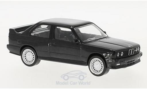 Bmw M3 E30 1/43 Norev  black 1986 diecast model cars