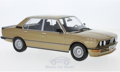 Bmw M5 E12 1/18 Norev 35i  gold 1980 miniature