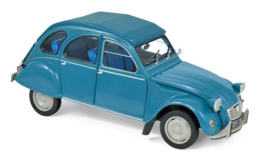 Citroen 2CV 1/18 Norev 6 Club blue 1982 diecast model cars