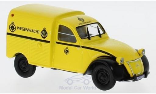 Citroen 2CV 1/43 Norev AZU Wegenwacht 1959 miniature