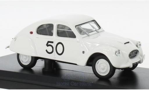 Citroen 2CV 1/43 Norev Dagonet No.50 Rallye des Charentes 1956