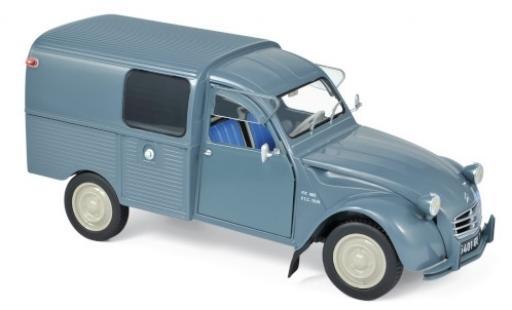 Citroen 2CV 1/18 Norev Fourgonnette AK350 bleue 1966 miniature