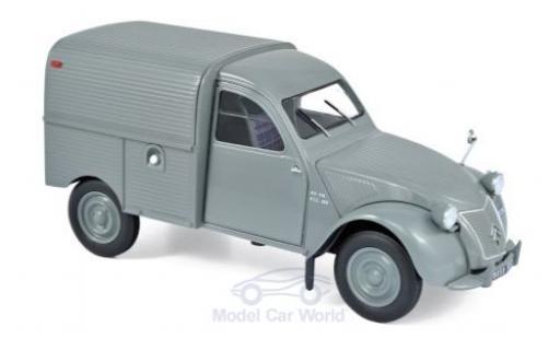 Citroen 2CV 1/18 Norev Fourgonnette grise 1957 miniature