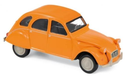 Citroen 2CV 1/43 Norev orange 1979 Jetcar miniature