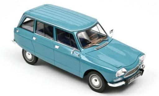 Citroen Ami 8 1/18 Norev Break blue 1975 diecast model cars