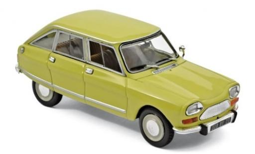 Citroen Ami 8 1/43 Norev Club yellow 1970 diecast model cars