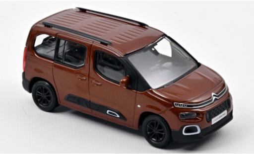 Citroen Berlingo 1/43 Norev metallise marron 2020 miniature