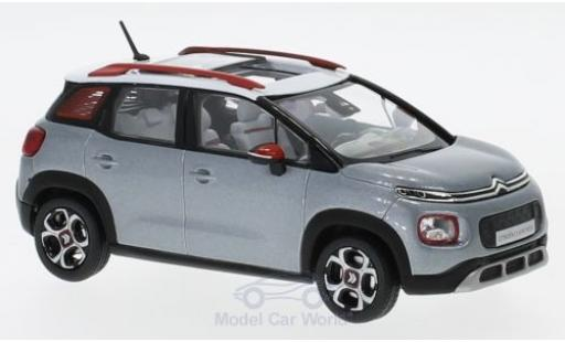 Citroen C3 1/43 Norev Aircross metallise grey/white 2017 diecast model cars