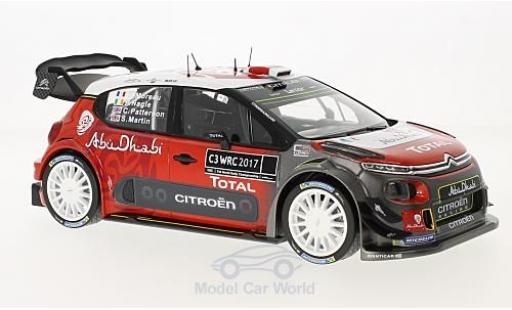 Citroen C3 1/18 Norev WRC 2017 Official Presentation Version diecast model cars
