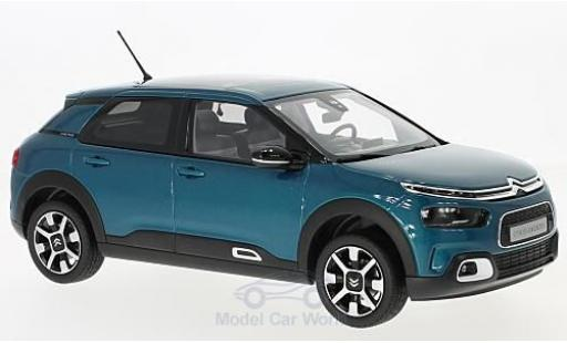 Citroen C4 1/18 Norev Cactus metallic-bleue 2018 miniature