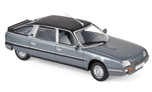 Citroen CX 1/43 Norev Turbo 2 Prestige metallise grise/noire 1986 miniature