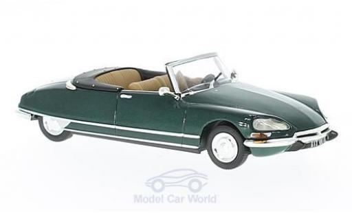Citroen DS Cabriolet 1/43 Norev 21 Cabriolet metallic green 1971 diecast
