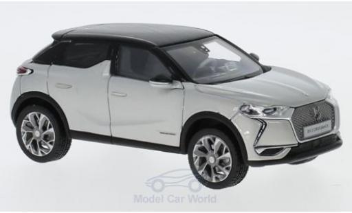 DS Automobiles DS3 1/43 Norev Citroen DS 3 Crossback grise/noire 2019 miniature